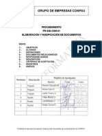 Procedimiento Elaboracion y Modificacion de Documentos