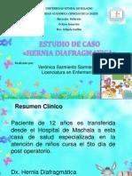 Exposicion Estudio de Caso Hernia Diafragmatica