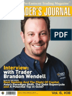 Trader's Journal Cover - Brandon Wendell August 2010