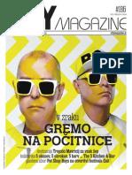#186 City Magazine / Gremo na počitnice