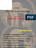 PSY 331 Human Sexuality