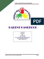nelson bay preschool parent handbook
