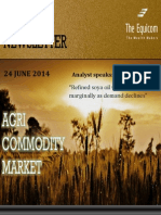 Daily Agri News Letter 24 June 2014