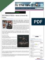 Astra Militarum (Imperial Guard) HQ Review