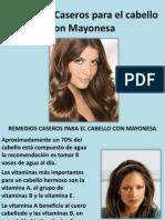 Remedios Caseros Para El Cabello Con Mayonesa