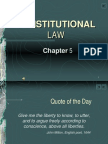 Constitutional law assignment?