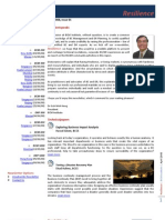 BCM Institute Resilience Newsletter Q1 2008 Business Continuity Management