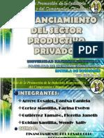 Sector Productivo Privado