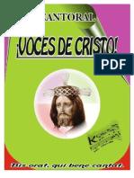 Cantoral Voces de Cristo 2012 Completo