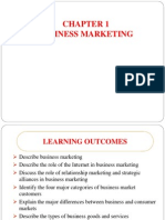 Chapter 1 Business Marketing