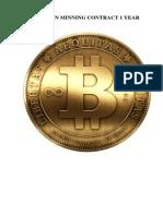 Bitcoin Minning Contract