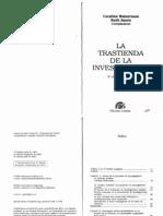 Weinerman y Sautu - La Trastienda de La Investigacion
