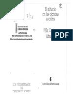 UNFV ANTROPOLOGIA Schuster, Felix - El Método en Las Ciencias Sociales