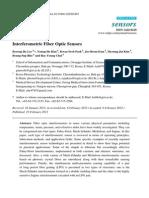 Interferometric Fiber Optic Sensors