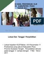 Laporan Hasil Penyidikan Klb Rabies Kabupaten Poso