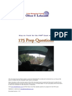 175 PMP Sample Questions