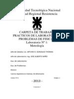 Laboratorio nº1 - Metrología