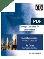 2014 ROSE DUG Permian Conf Presentation 0520 2014