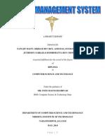Hospital Management Project Report