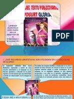 Análisis Del Texto Publicitario de Yogurt Gloria1