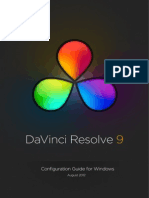 Resolve Win Config Guide 2012-08-30
