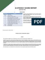 Australia Stocks F Score Sep 13
