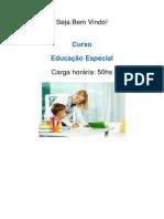 Curso Educação Especial
