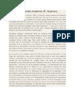La Crise Du Monde Moderne - Scriptoblog