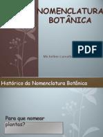 6.Nomenclatura Botânica