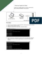 Firmware Update by Telnet v11.2