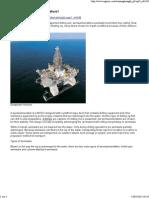 RIGZONE - How Do Semisubmersibles Work