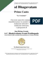 Srimad Bhagavatam Canto 1 (Completo)