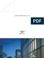 Bentley Continental GT Brochure