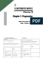 Chapter 1 - Progression