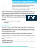 Best Practices-Merchandise & Assortment Planning