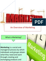CHAPTER 1- An Overview of Marketing