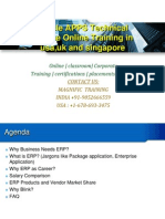 Oracle APPS Technical Course Online Training in Usa,Uk and Singapore