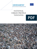 Tanzania-National Urban Profile