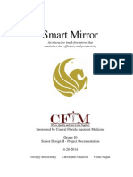 SmartMirror EEL4915 Documentation