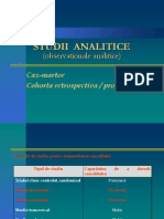 Curs 2 Studii Analitice Observationale