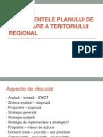 Componentele Planului de Amenajare a Teritoriului Regional
