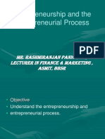 Entrepreneurial & Its Process