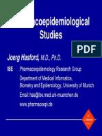 Study Design Pharmacoepidemiology