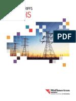 Electric Tariffs Illinois