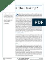 Linux on the desktop?