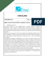 Enac APT_24 - Piazzali Aeromobili (APRONS) – Segnaletica Orizzontale