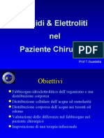 Fluidi Ed Elettroliti
