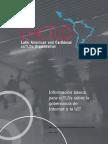 Información básica para ccTLDs sobre la gobernanza de Internet y la UIT