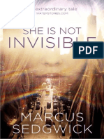 She is Not Invisible by Marcus Sedgwick Extract