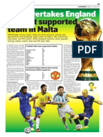 MaltaToday World Cup Survey 2014